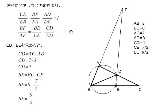 第5問(1)の解答欄オカキ,クケコの解答例