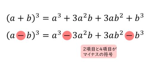 3次式の乗法公式その1