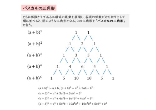 パスカルの三角形