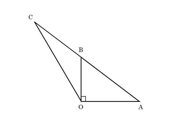 入試問題の図(数1)